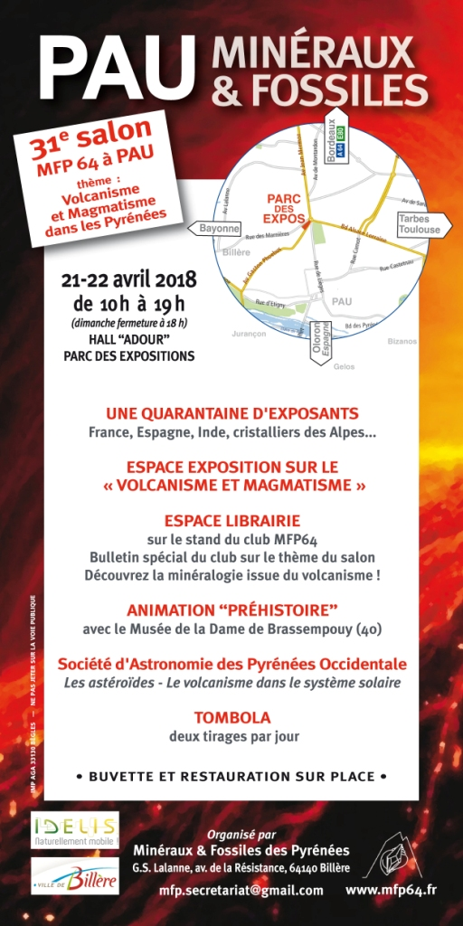 Pau 2018 flyer salon 2018 verso